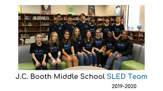 J.C. Booth Middle School SLED 2019 2020
