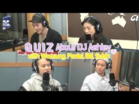 "Sound K Woosung Peniel BM Subin&39;s ""Quiz about DJ Ashley"" on Arirang Radio"