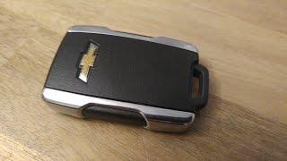 Chevy Silverado / Colorado Key Fob Battery Replacement - DIY