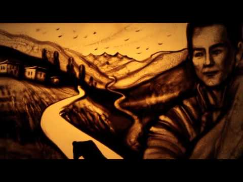 "Sand art film ""Gorgeous Bhutan"" by Kseniya Simonova (2015)"
