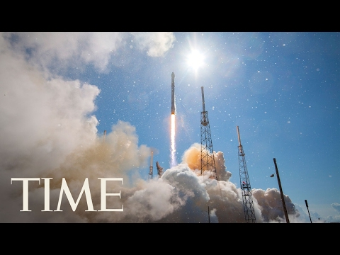 Follow-Up SpaceX Rocket Launch From NASA's Kennedy Space Cen