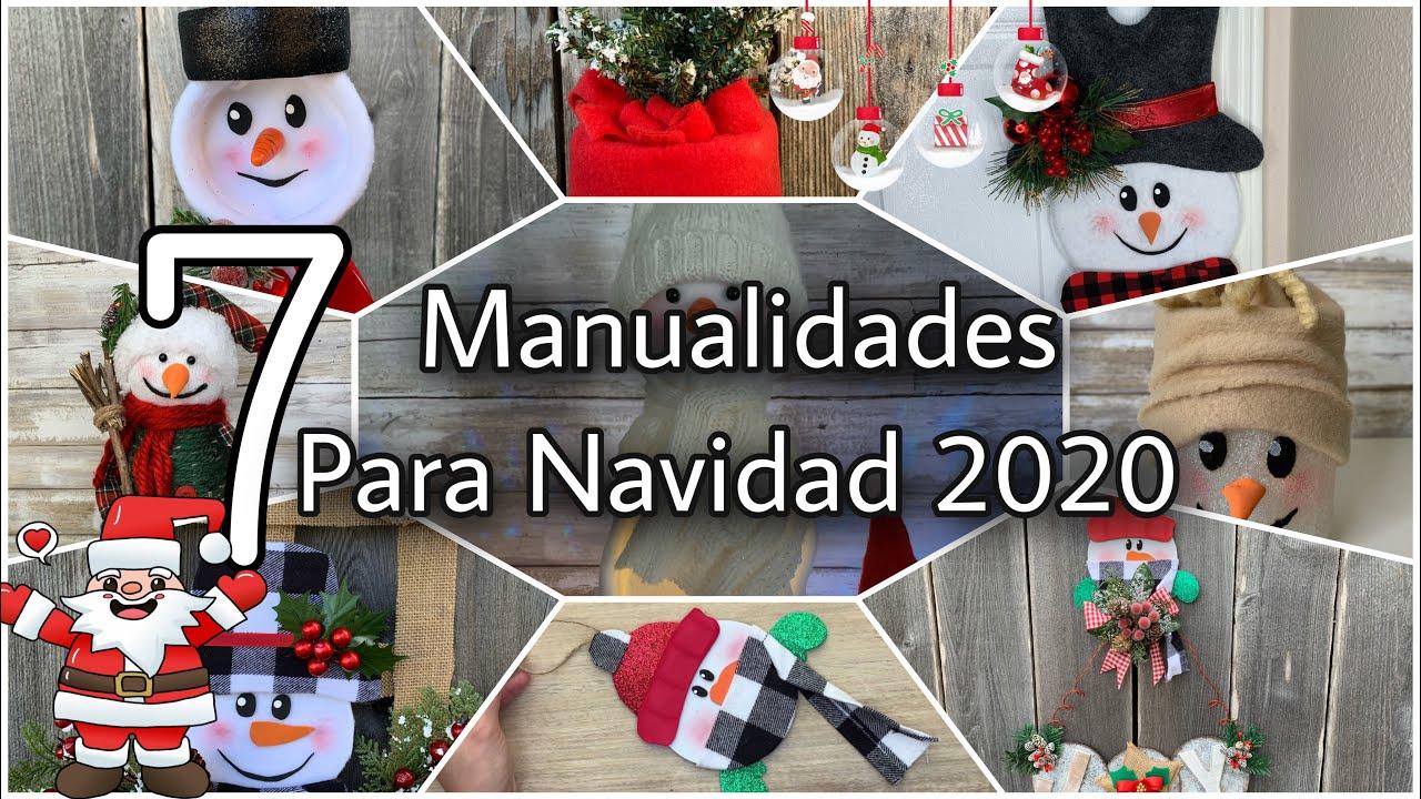 MANUALIDADES NAVIDEÑAS PARA VENDER O REGALAR/Christmas Decorations DIY/Natal DIY