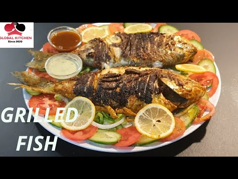 tandoori-grilled-fish- -how-without-tandoor-fish-grill- -very-easy-recipe-global-kitchen-urdu-hindi
