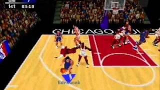 NBA Action 98. SEGA Saturn
