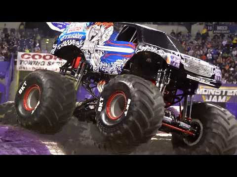 Monster Jam Indianapolis Highlights - Stadium Championship Series 3 - Feb 10, 2018