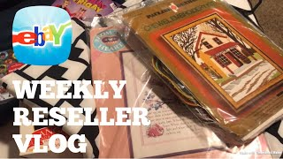 Ebay Sales Are Picking Up | Getting Ready for 4th Quarter | Weekly Reseller Vlog