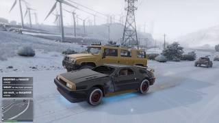 GTA 5 Grand Theft Auto V online winter time snow