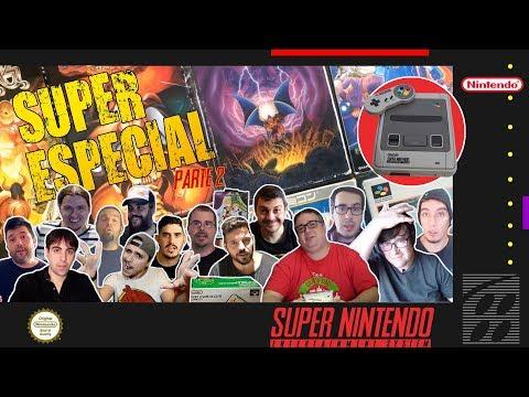 Especial Super Famicom pt2 - SNES + exclusivos japoneses