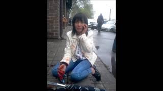 Пьяная мадам разбила моё авто (((