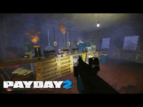 Payday 2 |Ep.4| METH HOUSE! ( w/Boo, Brick, & Jiggy | PC )