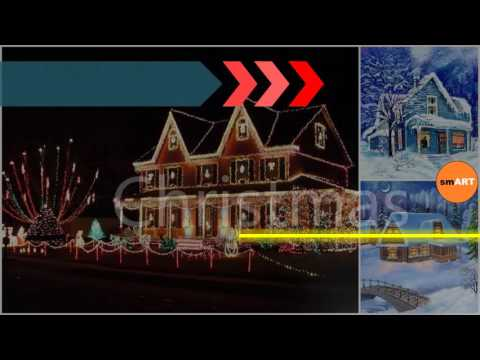Christmas house decorations indoor christmas decorating ideas youtube Christmas home decoration youtube