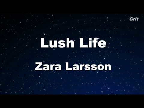 Lush Life - Zara Larsson Karaoke 【With Guide Melody】 Instrumental