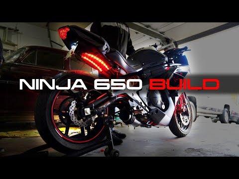 Shop Day - Customizing The Ninja 650