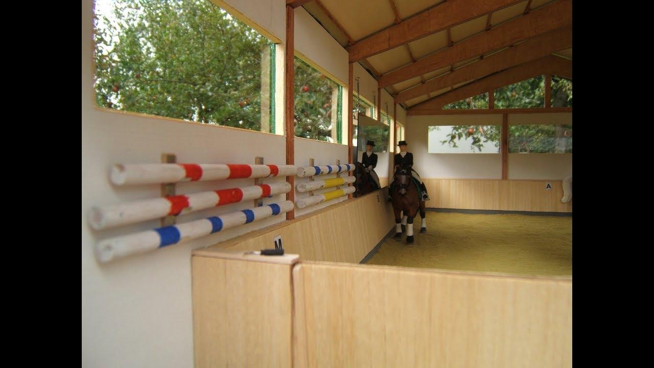 p nn reithalle modern bausatz zu verkaufen f r modellpferde modell horses riding hall youtube. Black Bedroom Furniture Sets. Home Design Ideas