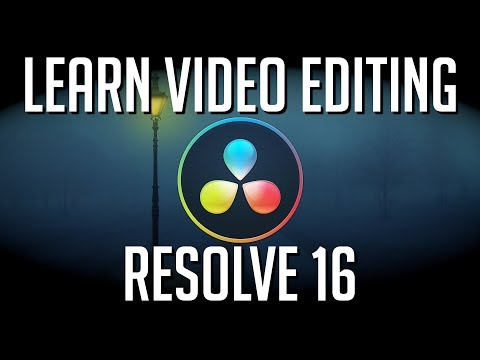 LEARN DAVINCI RESOLVE 16 IN 40 MINUTES - Video Editor Guide for Beginners