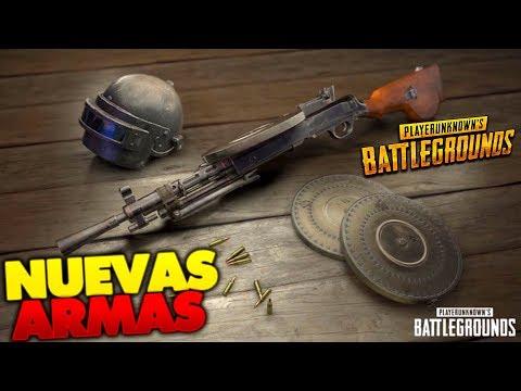 ¡PROBANDO LA NUEVA ARMA AUG-A3 Y DP-28! - PLAYERUNKNOWN'S BATTLEGROUNDS NUEVA ACTUALIZACIÓN
