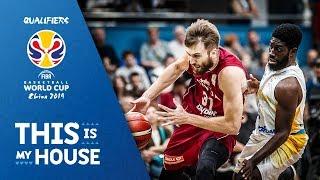 Ukraine v Latvia - Highlights - FIBA Basketball World Cup 2019 - European Qualifiers