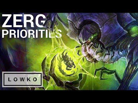 StarCraft 2: ZERG PRIORITIES! (Strategy Analysis)