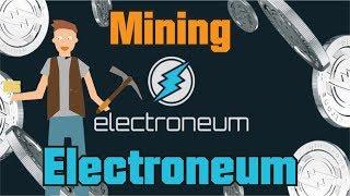 Begini Cara Mining Cryptocurrency Electroneum Menggunakan CPU