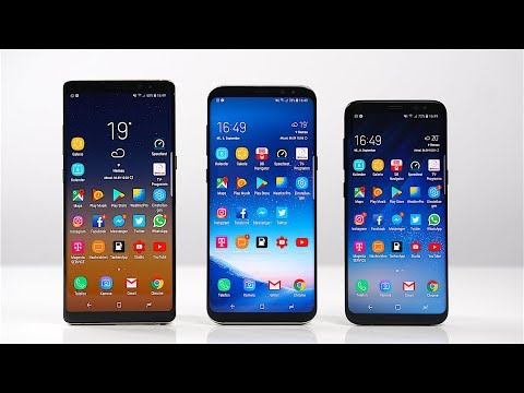 Samsung Galaxy Note 8 vs. Galaxy S8+ vs. Galaxy S8: Benchmark | SwagTab