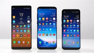 Samsung Galaxy Note 8 vs. Galaxy S8+ vs. Galaxy S8: Benchmark | SwagTab