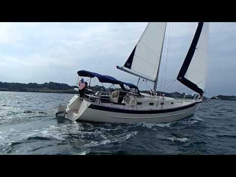 Nick Hake Sailing Seaward 32RK off Newport