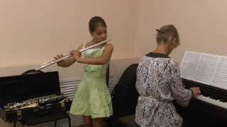 "Моцарт ""Аллегретто"" из оперы ""Волшебная флейта"""