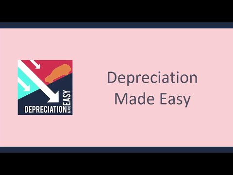 Depreciation Made Easy