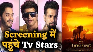 The Lion King | Grand Screening | Tv Stars | Sunidhi Chauhan