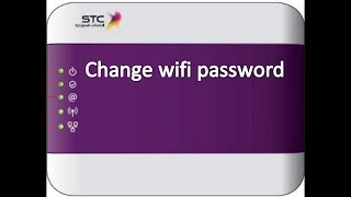 how to change stc wifi password in urdu hindi / how to