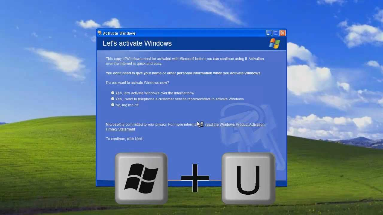 Bypassing windows product activation windows xp youtube for Windows products