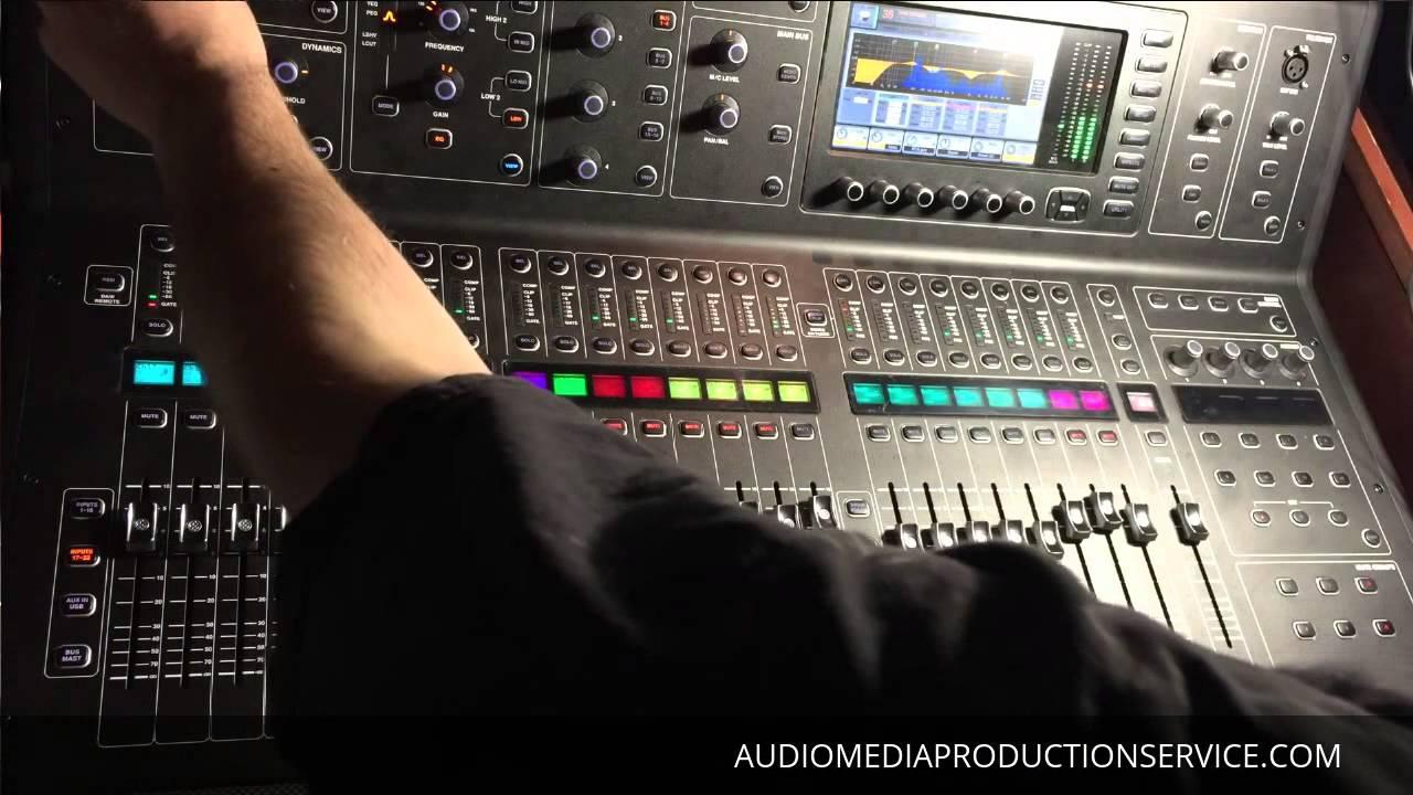 Live Sound Check: Midas M32