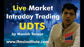 "Live market Intraday Trading in Gold on the basis of ""Uni-directional trade strategies"""