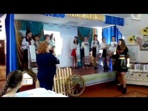 Виступ на святі Шевченка