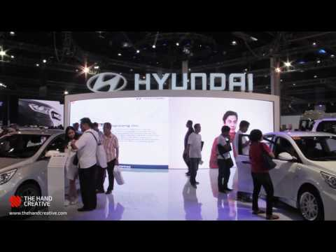Hyundai Multiple Interactive Installations at the Manila International Auto Show 2017