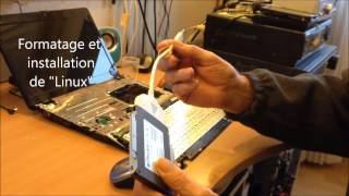 Formatage et installation Linux, DD hors PC Mp4 101 Mo 2400Kbits
