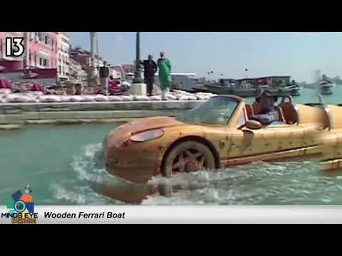 #13 Wooden Fearri Boat – Crazy Boats
