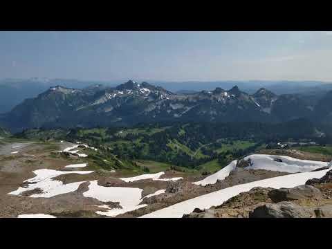 Mt. Rainer National Park, Paradise, Skyline Trail, Washington (August 12, 2017)