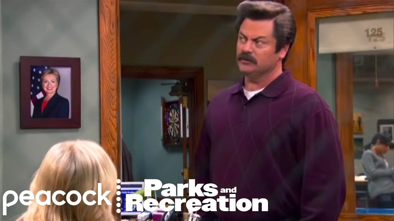 Parks And Recreation Ron Loves Riddles Episode Highlight
