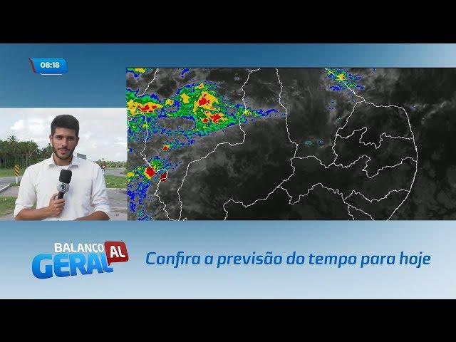 Confira a previsão do tempo para hoje