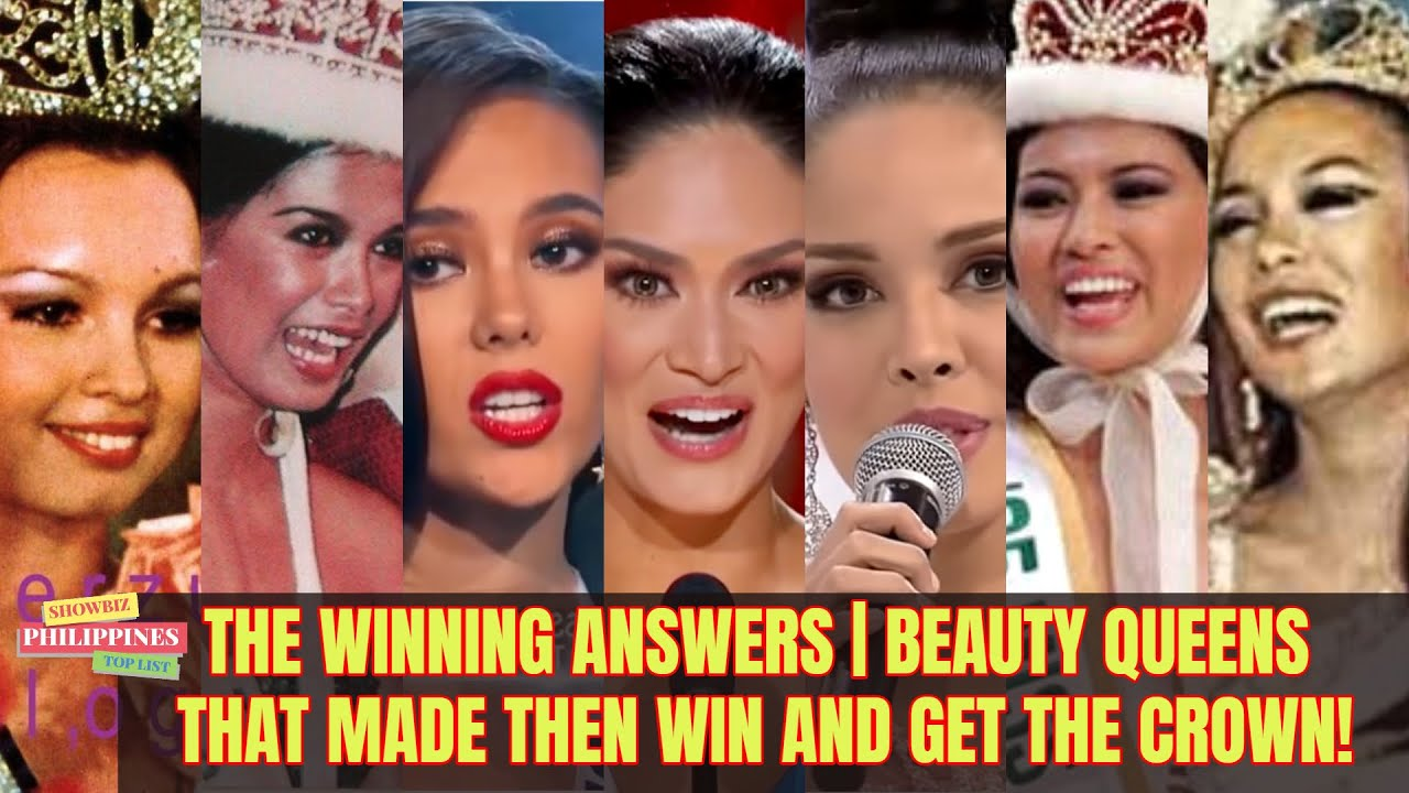 THE WINNING ANSWERS | BEAUTY QUEENS THAT MADE THEN WIN AND GET THE CROWN!
