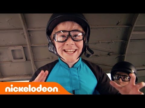 Nicky, Ricky Dicky & Dawn Emotional Finale 😭 Lizzy Greene & Squad Sky Dive  Nick