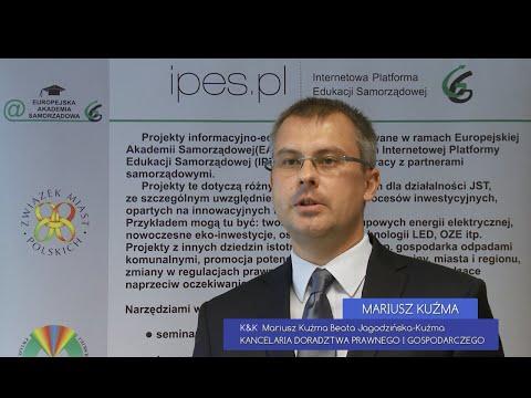 Mariusz Kuźma z Kancelarii Doradztwa Prawnego i Gospodarczego dla ZPP