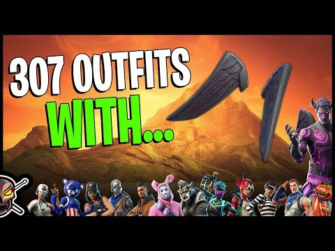The NEW Fallen Wings On 307 Outfits - Fallen Love Ranger - Fortnite Cosmetics