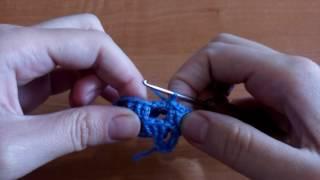 Урок 5: как вязать полустолбик без накида крючком (П)