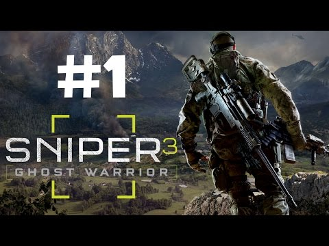 Sniper Ghost Warrior 3 Walkthrough Gameplay Part 1 - Prologue Mission PS4 1080p - No Commentary