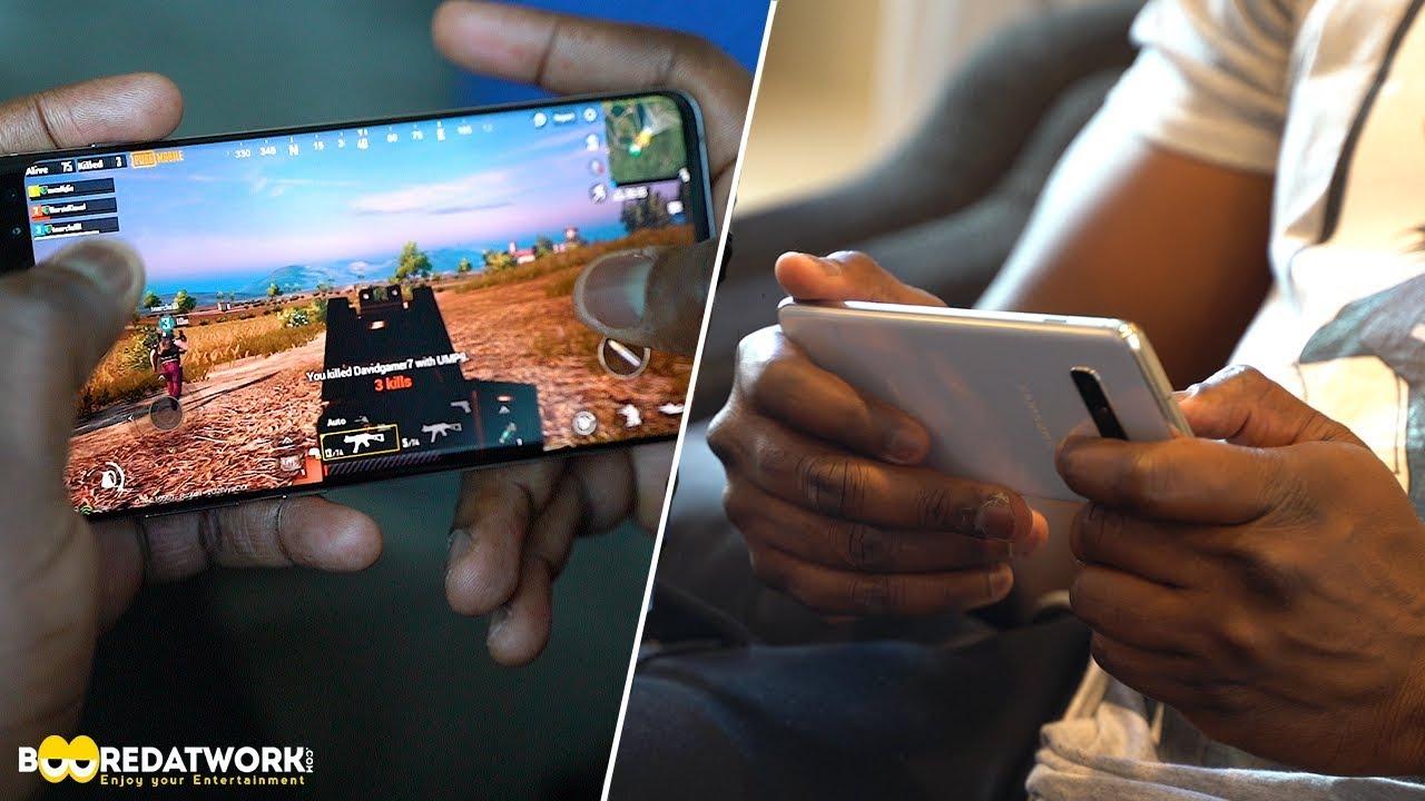 Galaxy S10+ Gaming: PUBG Mobile