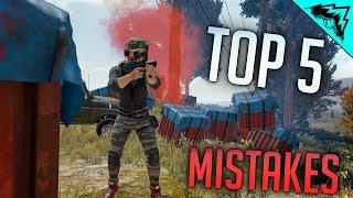 PUBG TIPS: 5 Mistakes (Battlegrounds Tips #2)