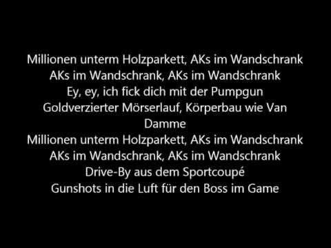 Kollegah -- AKs im Wandschrank Lyrics