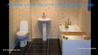 Gambar cover Ceramic wall tile designs for bathrooms | Stylish washroom & showering area picture